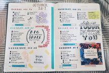 Kalender Creative journaling