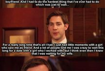 the office /