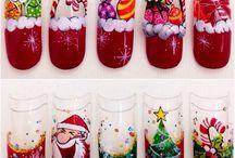 xristmas nails