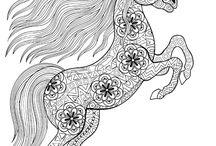 malowanki konie