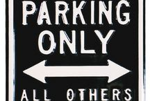 Funny Parking Signs / Campervan and Funny Parking Signs   www.campervangift.co.uk