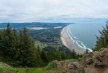 Tillamook Coast / The beautiful rugged Tillamook Coast in Oregon.