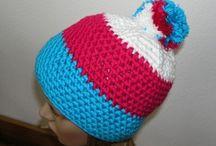 Čepice (hat) / Háčkované a pletené čepice