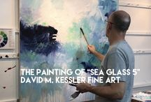 Abstract Painting Demonstrations