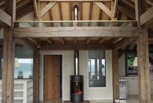 Cool Spaces / These are small buildings or individual rooms that have a distinctive feel. Clever use of timber frames, lighting or contrasting finishes can provide a room with its own identity.  www.roderickjamesarchitects.com