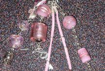 Sleutel-/Tashangers Handmade