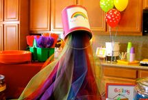 Rainbow Art party / Birthday