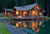 my cabin in woods