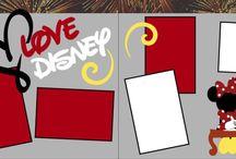 Disney Scrapbooking / scrap layout ideas