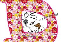 Lettere snoopy
