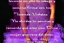 Tacones violetas fibriomialgia