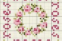 Punto de cruz y bordado / Gráficos e ideas de punto de cruz y bordados