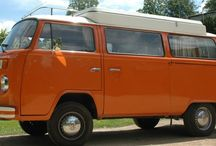 Tangerine Dream / Our beautiful Orange Campervan ready for hire