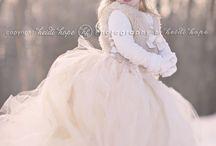 Snow princess photoshoot