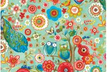 Tree Of Life Fabric Collection By Sue Zipkin for Clothworks Textiles / Tree Of Life Fabric yardage at discoverfabric.com