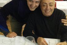 Un amico / In compagnia di @PeppeBarra, un caro e affezionato amico. Una serata piacevole e piena di sorrisi, grazie Peppe Barra.  Per informazioni e prenotazioni telefono 0818991843 / 333 2963740 La Lanterna ristorante, via G. C. Aliperta,  Somma Vesuviana, Napoli