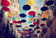 """Umbrella, ella, ella, ella / """"There will be fat years and lean years but new products aside, it will always rain."""" - Don Draper"""