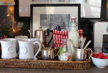 Coffee & Tea Stations / Coffee and Tea Station Inspiration