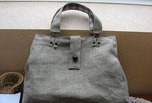 λινη τσάντα