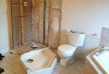 New Bathroom Renovation Project in oakville / Take a look at ongoing bathroom renovation project in Oakville.