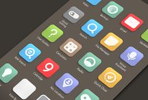 Icons : Semi Flat Designs
