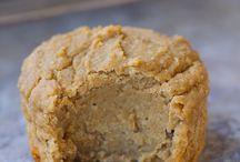 Recipes / Flourless banana muffins