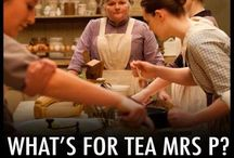 Tea & Downton Abbey