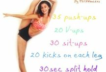 Dance stretches/work outs