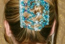 Kudu Klip /  KUDU KLIP is an exclusive hair accessory handcrafted in the United States.