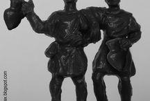 1:72 Plastic Soldiers / Figuras de plástico en escala 1:72 http://sobresmontaplex.blogspot.com.es/