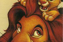 Disney / Tableau Disney, pour les fans de disney ou meme le roi lions et tout les autres grands Classiques ;)