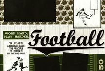 football layout / by Margaret Powell