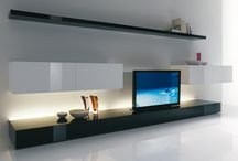 Wall unit tv