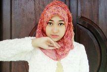 clipA hijab / Hijab cantik