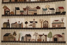house quilt patchwork