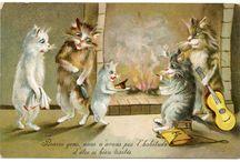 Chats de Maurice Boulanger