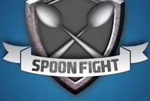 Spoon Fight / Play an exciting game that will test your gaming skill at Spoon Fight.