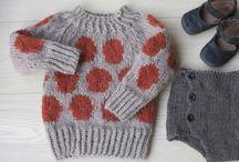 Knitting - For my boys