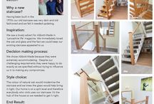 Open Tread Staircases / A range of Abbott-Wade's open tread staircases and renovations