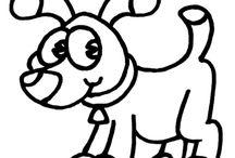 Disegni di Animali da Colorare / Disegni di animali da colorare