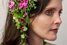 INSPIRASJON - Blomster i hår