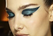 Catwalk high fashion makeup / Makeup