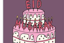 Eid Greeting Cards / Modern & Trendy Eid Greeting cards, unlike any others. All designed in house by our team of graphic designers, and printed on high quality card stock. Made & Printed in England.