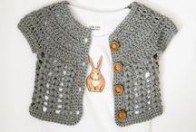 babies crochet vest