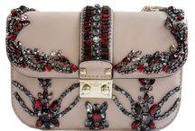 Valentino crystal shoulder bag