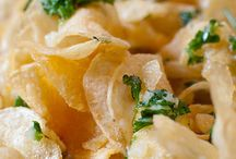Appetizers:  Bread, Chips, Fries/Potatoes, Rings, & Crackers / by Donna Coy