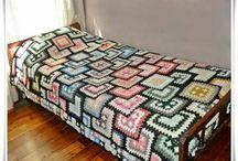 Crochet Granny Square Dress / Crochet