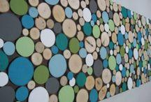 Mural bois