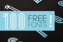 Type set font