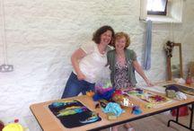 Irish felting workshops with Nicola Brown - Clasheen